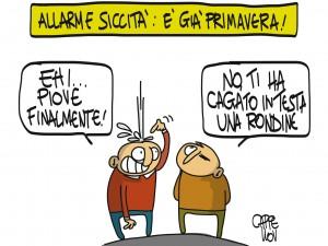 Siccità in Italia