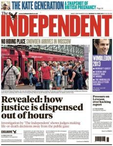The Independent su carta chiuderà il 26 marzo
