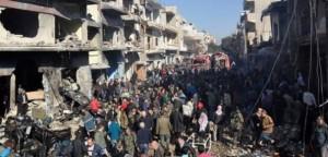Siria, attentato contro i musulmani 'infedeli' per colpire le speranze di pace a Ginevra