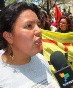 """Berta Caceres, """"dare la vita per i fiumi è dare la vita per l'umanità"""""""