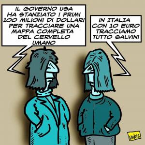 Con Salvini si guadagna