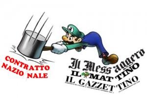 Gruppo Caltagirone, giornalisti di nuovo in sciopero il 31 marzo prossimo