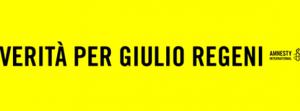 Flash-mob e striscioni esposti negli stadi per Regeni. 24 aprile a Milano con Amnesty