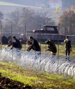 La Liberazione prigioniera del filo spinato