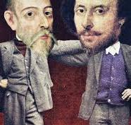 William Shakespeare e Miguel de Cervantes. 400 anni fa
