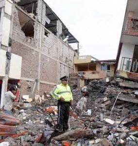 Terremoto in Ecuador: 235 morti e 1500 feriti