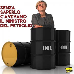 Il ministro del petrolio