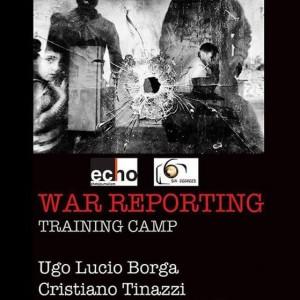 Al via il primo War Reporting Training Camp organizzato in Italia