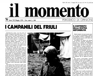 Il giorno dopo (40 anni fa il terremoto del Friuli)