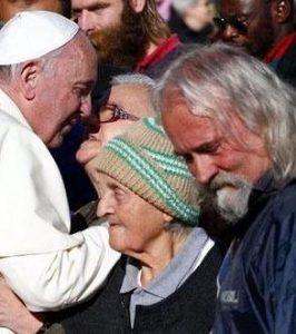 Homeless senza residenza scrivono a Papa Francesco