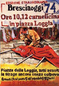 Otto morti e cento feriti. Il 28 maggio di quarantadue anni fa la strage di piazza della Loggia