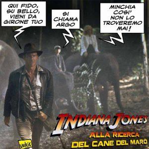 Indiana Jones e il cane del Marò