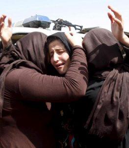 L'ultimo orrore di Daesh a Mosul, arse vive 19 donne yazide