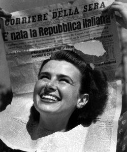 Il 2 giugno '46 nelle memorie familiari
