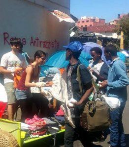 Roma, blitz della polizia alle tendopoli del Verano. Tensioni tra gli immigrati