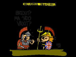 Britannia donna ingestibile. Da sempre. Già ai tempi dei romani…