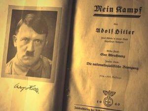 Caso Mein Kampf-Il Giornale: 'inferno è fecondo, si tratta di fare una scelta