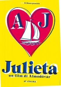 Julieta, di Pedro Almodovar  ★★★★☆