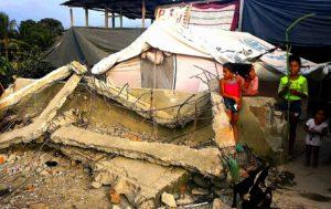 La cattedra ecuadoriana, lezioni di sisma