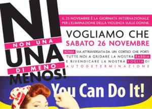 L'autunno caldo delle donne. Tutte a Roma: assemblea nazionale l'8 ottobre, manifestazione nazionale il 26 novembre
