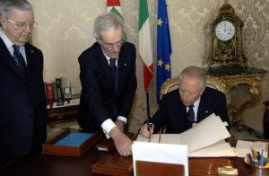 Carlo Azeglio Ciampi, un presidente che aveva a cuore la libertà di informazione