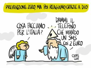 Terremoto: Italiani sempre generosi. Ma spendere prima per la prevenzione ?