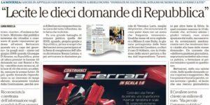 Le 10 domande a Berlusconi. Una pagina di buon giornalismo perché finalizzato a tutelare il diritto dei cittadini ad essere informati
