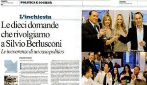 """Le domande a Berlusconi erano legittime. La Corte d'appello di Roma dà ragione a """"Repubblica"""" (e torto all'ex Cavaliere). In nome dell'articolo21 della Costituzione"""