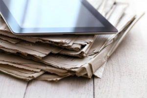 Giornali cartacei e on line. Come cambiano gli scenari