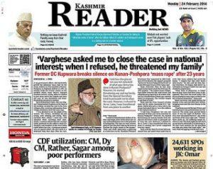 India, chiuso un quotidiano kashmiro