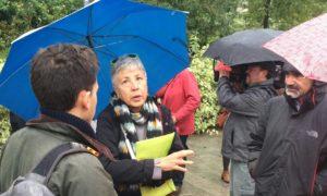 Giornalisti, attori, studenti… In tanti ieri a Milano per ricordare Anna Politkovskaja