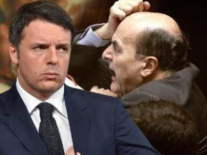 Renzi-Bersani, separati in casa