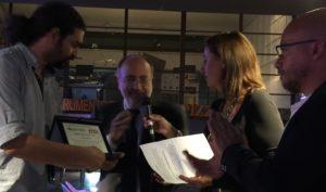 Rami Jarrah: Dedico il mio premio ai colleghi morti in Siria per compiere il loro dovere di raccontare