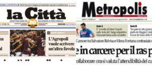"""Fnsi: Il Gruppo L'Espresso non ceda """"La Città"""" di Salerno a editore che minaccia i giornalisti"""