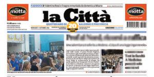 """""""La Città"""" di Salerno. Come ritrovarsi il padrone in redazione"""