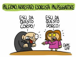 Palermo, prete arrestato con l'accusa di aver molestato sessualmente alcune donne e minori durante riti di esorcismo