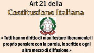 Governo, appello di Articolo 21: stop a tagli e bavagli