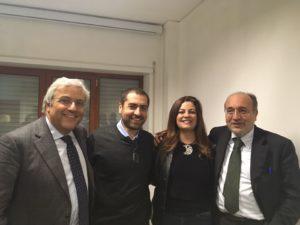 Articolo21 Napoli: passaggio di consegne tra Carlo Verna e Désirée Klain