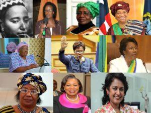 Donne a capo di una nazione, in Africa si può