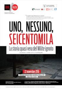 """""""Uno, nessuno, seicentomila"""". Gorizia, 22 novembre"""