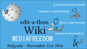 A Belgrado un edit-a-thon su Wikipedia per la libertà di stampa