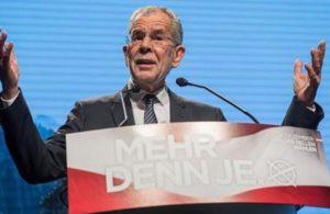 Austria, il verde Van der Bellen è il nuovo presidente