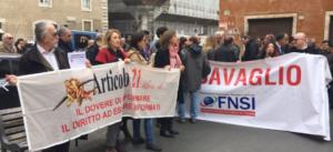 Articolo 21 e Fnsi: oggi a Roma un incontro per chiedere una legge contro le querele temerarie