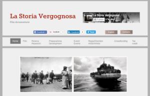 """""""La Storia Vergognosa"""". Al via la campagna di crowdfunding"""