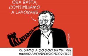 Petizione per Riccardo Orioles, consegnate a Palazzo Chigi le 30mila firme per il riconoscimento della legge Bacchelli