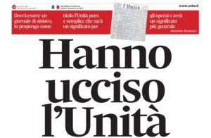 """Lettera redazione Unità a Belpietro: E' ancora in carica o si è dimesso?"""""""