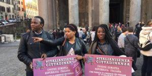 «L'Italia sono anch'io» ancora in piazza per la cittadinanza