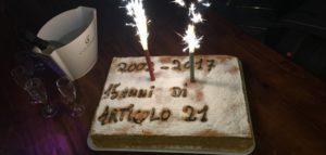 15 anni con Articolo21. Una grande festa. In tanti per la libertà di informazione. I messaggi di Mattarella, Grasso, Boldrini, Gentiloni