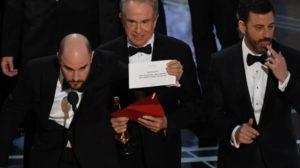 Notte degli Oscar, con strafalcione