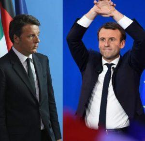 "I ""gemelli"" Macron-Renzi"